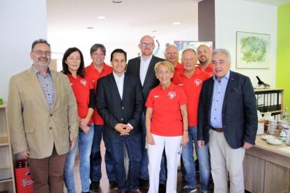 110 Jahre TuS • mit Duisburger Politikern (Foto von Reiner Terhorst)