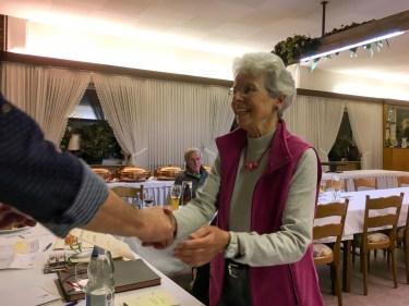 Ehrungen bei der Mitgliederversammlung 2018: Marianne Hasselberg