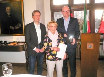 Sportherz der Stadt Duisburg für Helga Brands