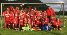 Die TuS E-Jugend gewann das Turnier
