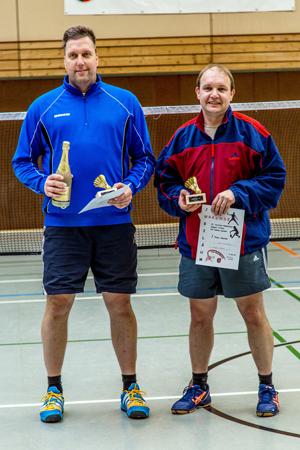 Herren 1. Platz: Stephan Ripken und Hajo Stürenburg
