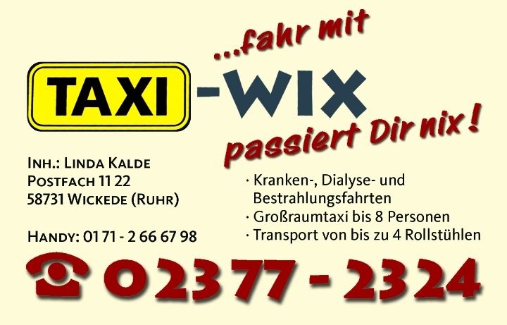Taxi Wix