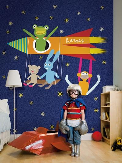 murales infantiles coordonne Murales infantiles y papeles pintados de Coordonne