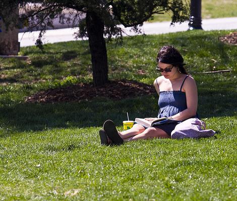 Mujer en el parque
