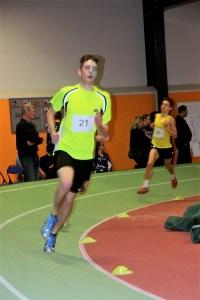 Daniel Warnecke beim 800 m Lauf