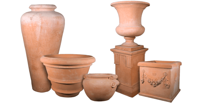 Terracotta Pots for Sale   Italian Terra Cotta Planters   Flower     Terracotta Planters and More
