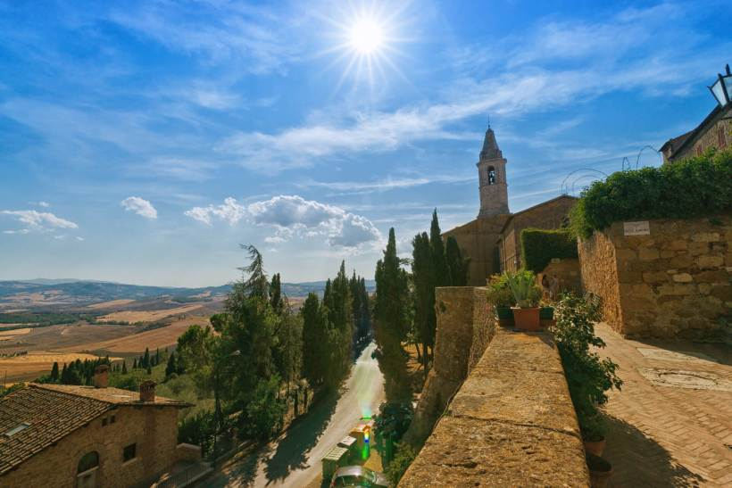 Pienza – View from City Wall