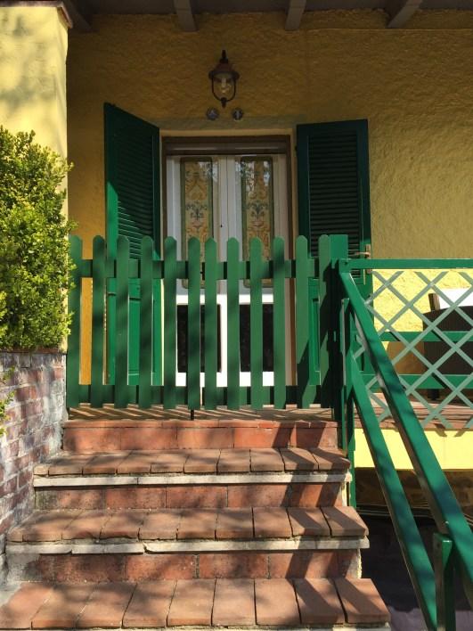 Door to upstairs sitting room