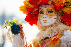 Maschera al Carnevale di San Gimignano
