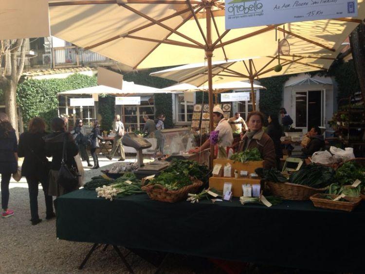 In contemporanea all'evento Taste 2014 si svolge Ortobello, mercatino biologico di prodotti della terra