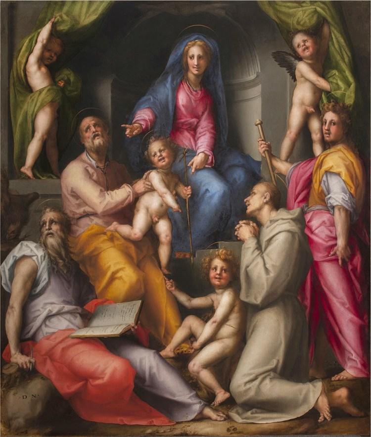 Due percorsi per conoscere meglio Pontormo e Rosso Fiorentino le cui opere sono in mostra a Palazzo Strozzi, Firenze, a partire dall'8 marzo 2014