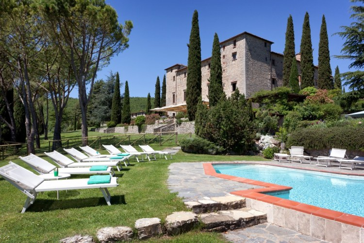Il Castello di Spaltenna è un Luxury resort nel Chianti