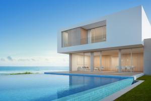Una tuscany luxury house con vista mare e piscina a sfioro