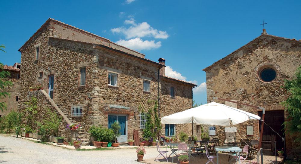 borgo di Suvereto in Val Di Cornia