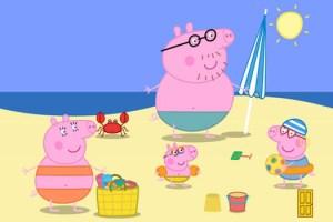 Peppa Pig Vacanze al sole, impazza sulle spiagge toscane la moda ispirata al celebre maialino, un'Idea vacanza per bambini in Toscana
