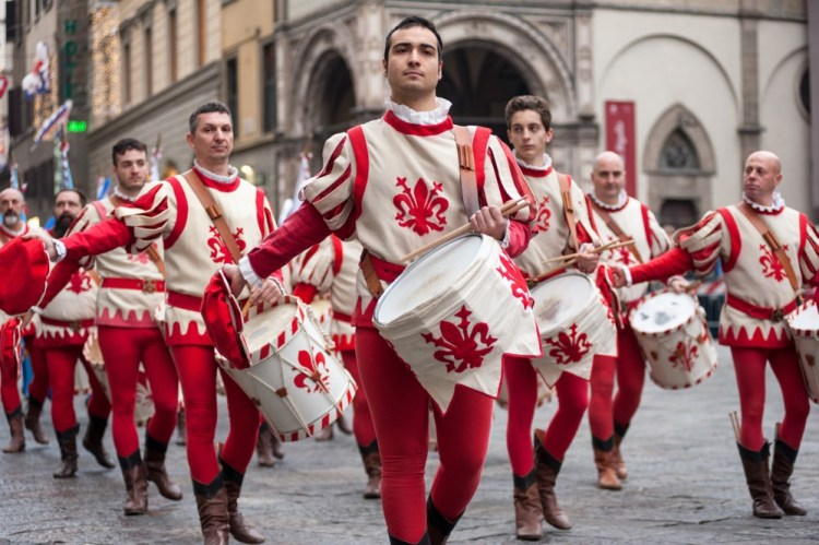 Corteo storico a Firenze