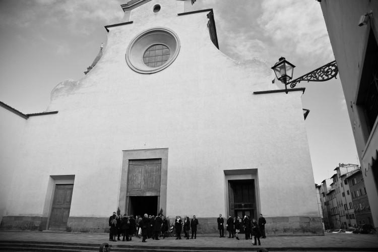 Piazza Santo spirito in Oltrarno Florence