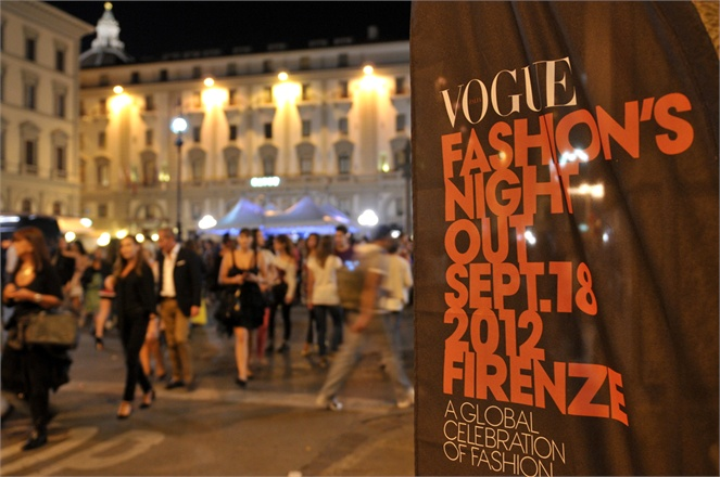 Vogue Fashion's Night Out 2015: la moda passeggia a Firenze