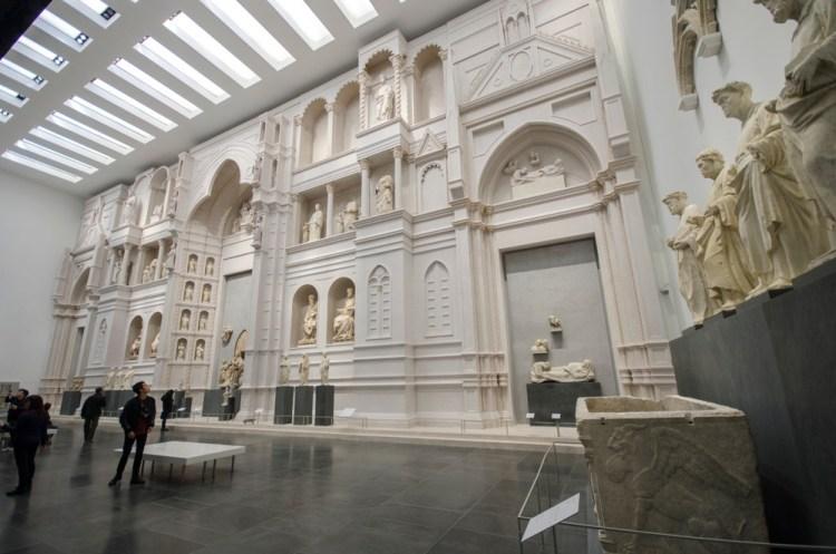 Museo dell'Opera di Firenze: la facciata di Arnolfo