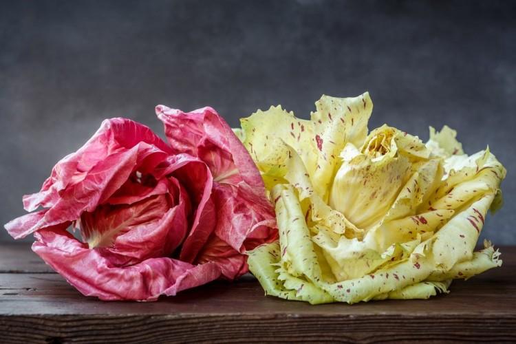 Abbiamo usato il radicchio variegato di Castelfranco nella nostra Frittata di Lesso