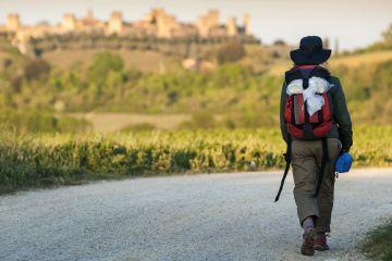 La Via Francigena nel Medioevo collegava la Francia a Roma, passando per la Toscana. Percorriamo l'antica via sulle tracce dei pellegrini