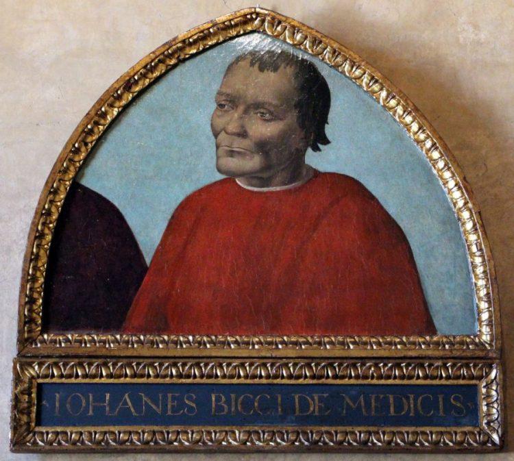 La storia dei Medici inizia nel Duecento con Giambuono dei Medici, ma il primo personaggio di rilievo storico che incontriamo è Giovanni dei Medici, fondatore del Banco dei Medic