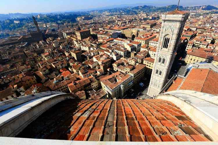 La cupola del Duomo di Firenze, progettata da Filippo Brunelleschi, è un capolavoro di architettura