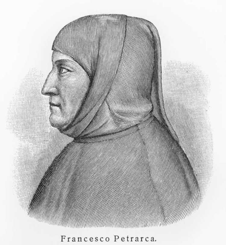 Francesco Petrarca è uno dei più grandi poeti toscani di tutti i tempi