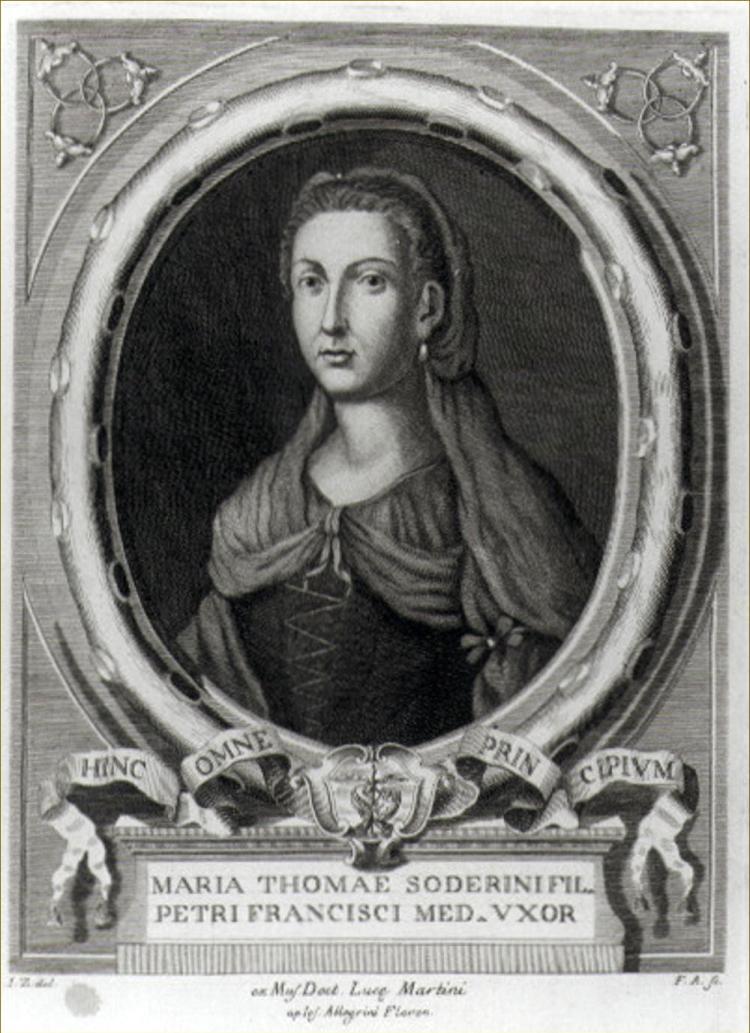 Storia di Maria Soderini, madre di Lorenzino dei Medici detto Lorenzaccio