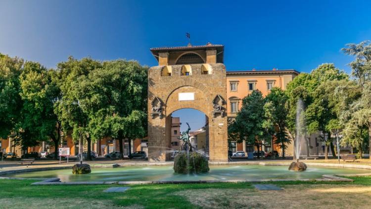 Porta San Gallo a Firenze delimita il quartiere storico di San Giovanni