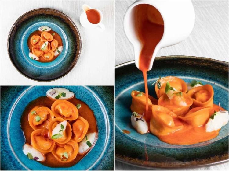 Il ristorante Extra a Carrara è la nuova sfida degli chef Claudio Folini e Pier Paolo Cuccurullo: cucina tradizionale rivistata e innovativa