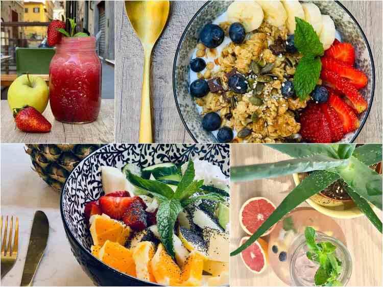 Rosalia Salad Gourmet è il primo Healthy Bistrot di Firenze, dove mangiare insalate gourmet, smoothie e centrifughe con prodotti biologici a chilometri zero Km 0.