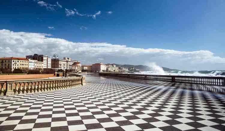 Terrazza Mascagni a Livorno