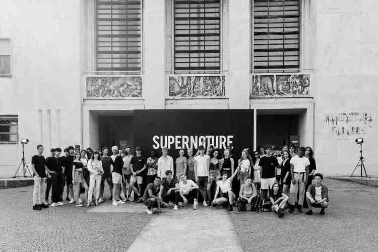 Studenti del Polimoda, la più importante scuola di moda in Italia, diretta da Danilo Venturi.
