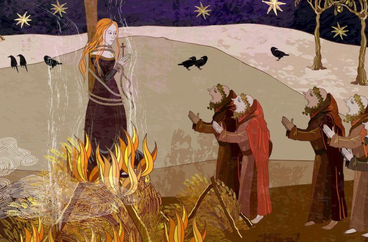 Storia della strega Gostanza da Libbiano, episodio rappresentativo della caccia alle streghe in Toscana.
