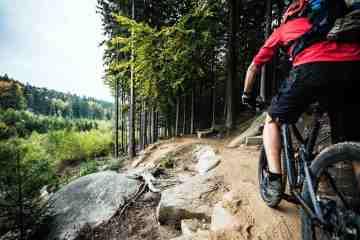 L'Alto Mugello è uno dei migliori luoghi dove andare in mountain bike in Toscana.