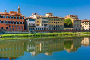 Santo Spirito è uno dei 4 quartieri storici di Firenze, è detto anche Oltrarno