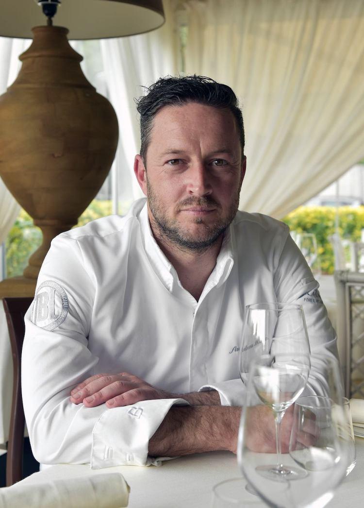 Chef Andrea Mattei, l'Executive dei ristoranti della Famiglia Vaiani: Bistrot, Osteria del Mare, Pesce Terrazza, Pesce Baracca, Fratellini's