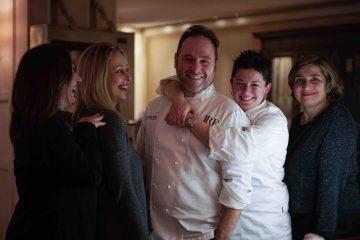 Lo Staff della Tenda Rossa della chef Maria Probst
