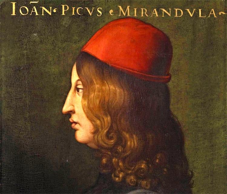 Ritratto di Pico della Mirandola