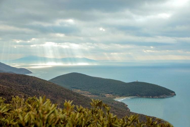 La costa della Maremma grossetana