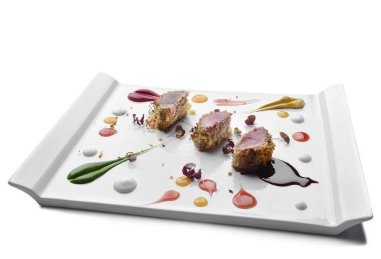 Secondo piatto del ristorante Perucà a San Gimignano