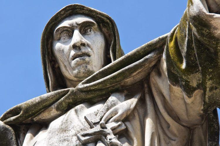 Girolamo Savonarola instaurò a Firenze un governo teocratico