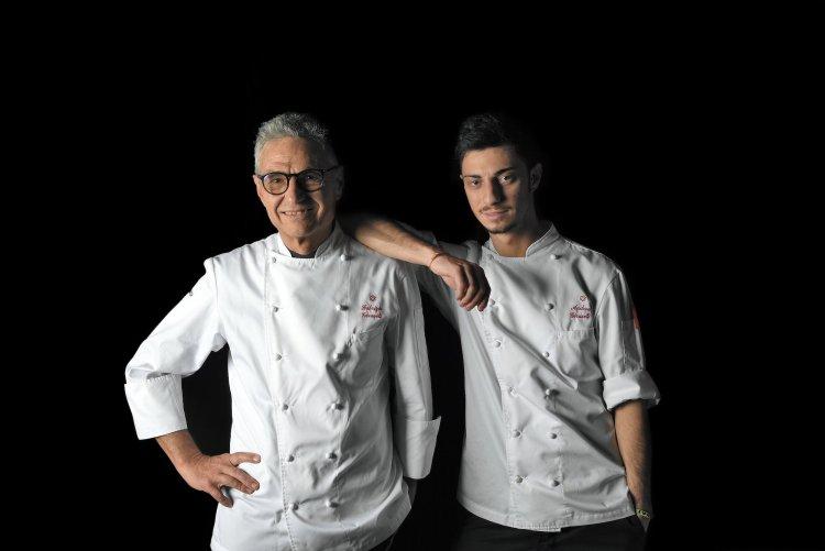 Andrea e Fabrizio Girasoli sono alla guida della cucina del Butterfly, ristorante stellato in Toscana.
