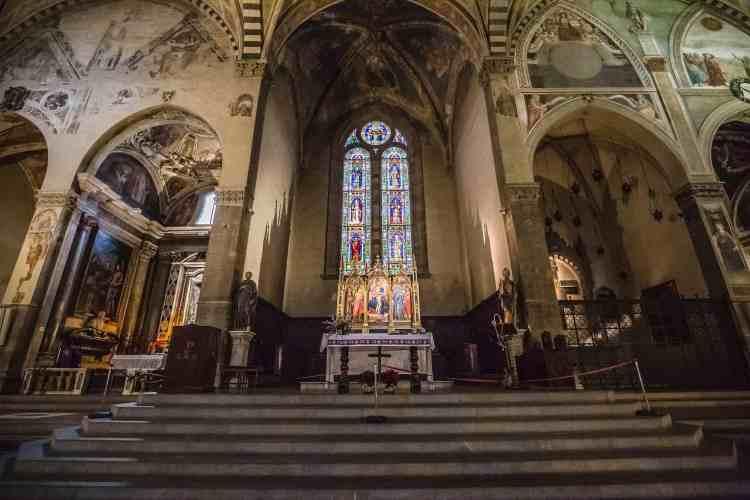 La Chiesa di Santa Trinita è una delle chiese a Firenze poco conosciute ma assolutamente da visitare