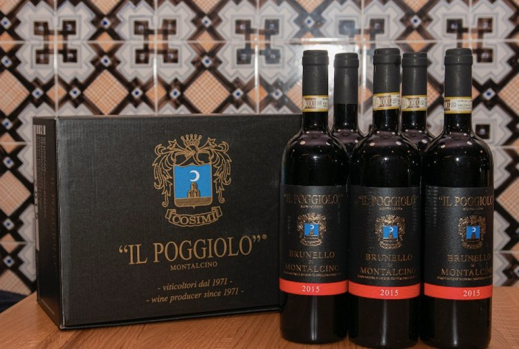 Bottiglie di Brunello di Montalcino DOCG Azienda Il Poggilo - Vendemmia 2015