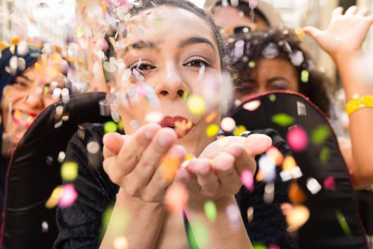 Carnevale in Toscana: ragazzi in maschera