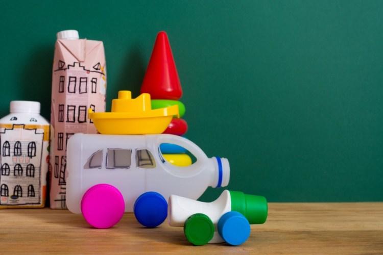 Giochi plastica riciclata
