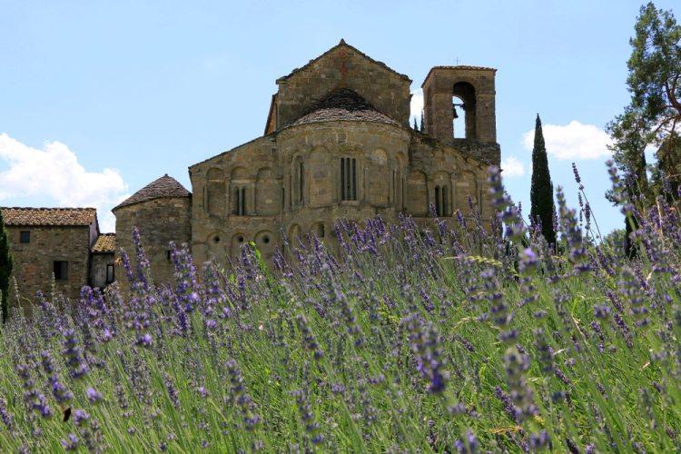 La Pieve di Romena si trova in Casentino vicino a Castel San Niccolò