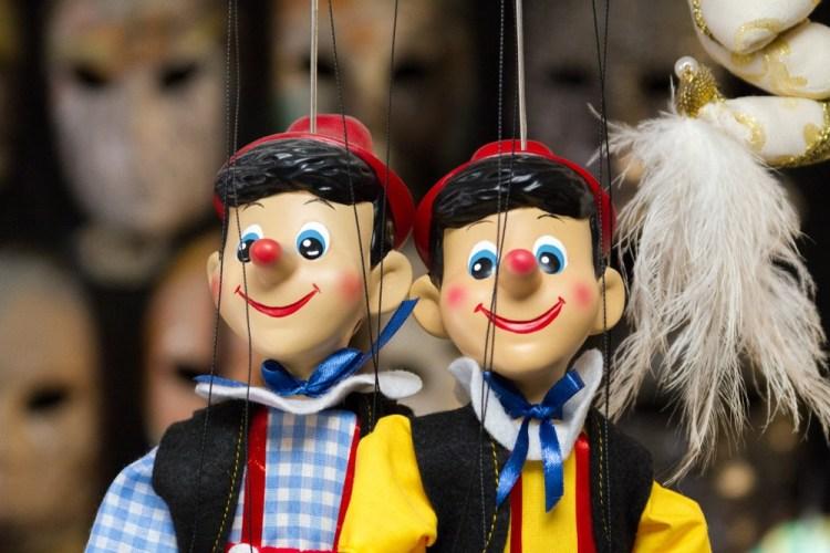 Pinocchio, il burattino nato dalla mente di Carlo Lorenzini detto Collodi